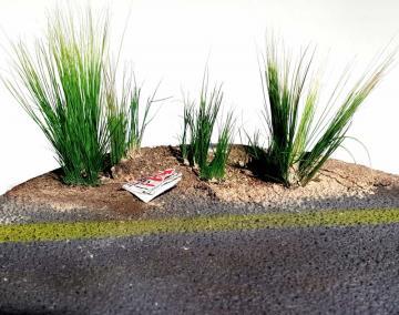 Трава для диорамы своими руками