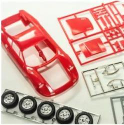 Модели из пластика