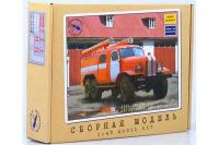 Пожарный автомобиль ПМЗ-27 (157К) 1959 г. - сборная модель (AVD models 1067) 1/43
