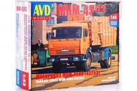 Сборная модель - МКМ-4503 [43253] - мусоровоз (AVD models 1273) 1/43