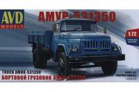 Сборная модель - Бортовой грузовик АМУР-531350 (AVD1290) 1/72