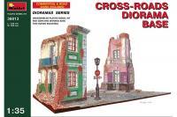 Сборная модель - Диорама с перекрестком - Cross-roads diorama base (MiniArt 36013) 1/35