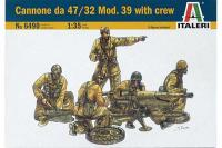47-мм протитанкова гармата Böhler M35 (ITALERI 6490) 1/35