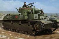 Сборная модель - Советский средний танк Т-28 - Soviet T-28 medium tank (Hobby Boss 3852)