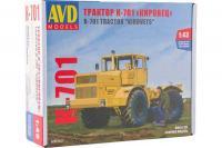 """Трактор К-701 """"Кировец"""" - сборная модель (AVD models 6001) 1/43"""