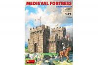Сборная модель - Medieval Fortress - СРЕДНЕВЕКОВАЯ  КРЕПОСТЬ (MiniArt 72004) 1/72