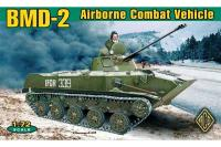 Боевая машина десанта БМД-2 - Airborne combat vehicle BMD-2 (ACE 72115) 1/72