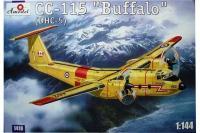 """Сборная модель - CC-115 """"Buffalo"""" - транспортный самолет (Amodel 01418) 1/144"""