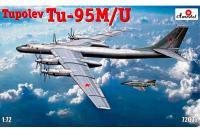 Сборная модель - Ту-95М/У / Tu-M/U Бомбардировщик (Amodel 72032) 1/72