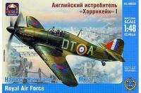"""Сборная модель - """"Hurricane"""" Mk.1 истребитель (ARK models 48026) 1/48"""