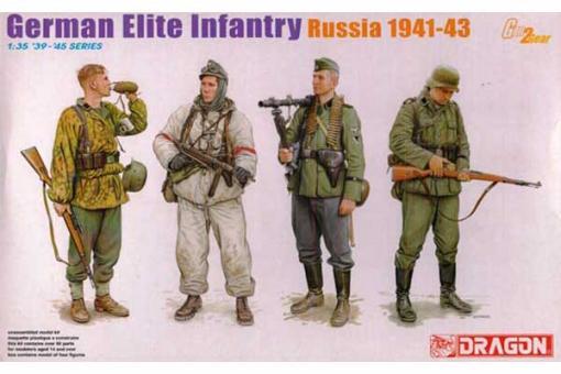 Німецька елітна піхота (Росія 1941-43) (Dragon 6707) 1/35