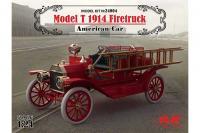 Model T 1914 г. пожарный автомобиль (ICM 24004) 1/24