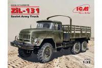 Сборная модель - ЗиЛ-131,, советский армейский грузовой автомобиль (ICM 35515) 1/35