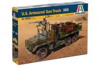 Американский бронированный грузовик с вооружением (Italeri 6503) 1/35