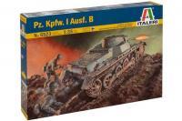 Сборная модель - Танк Pz.Kpfw.I Ausf.B (Italeri 6523) 1/35