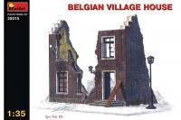 Сборная модель - Belgium Village House - Бельгийский деревенский дом (MiniArt 35015) 1/35