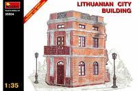 Сборная модель - Lithunianan city building - Литовское городское здание (MiniArt 35504) 1/35