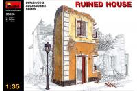 Сборная модель - Разрушенный дом - Ruined House (MiniArt 35526) 1/35