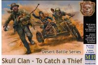 Сборные фигуры - Череп клана - Поймать вора,, серия битва в пустыне (Master Box 35140) 1/35