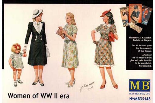 Жінки Другої світової війни (Master Box 35148) 1/35