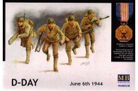 Сборные фигуры - D-Day June6,,1944 (Master Box 3520) 1/35