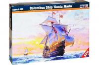 """Сборная модель - """"Санта Мария"""" - корабльКолумба / Columbus Ship 'Santa Maria' (Mister Craft D212) 1/270"""
