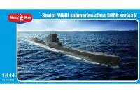 """Сборная модель - Советская подводная лодка серии V - """"Щука"""" (Micro-Mir 144-005) 1/144"""