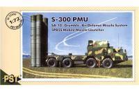 Сборная модель - Зенитно-ракетный комплекс С-300 -  S-300 PMU SA-10 5P85S (PST 72050) 1/72
