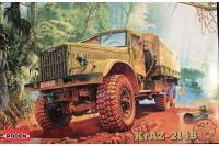 Сборная модель - Грузовик КРАЗ-214Б (Roden 804) 1/35