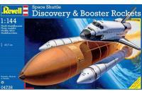 Сборная модель - Космический  шаттл Discovery с ракетоносителем (Revell 04736) 1/144