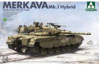 Сборная модель - Merkava Mk.I Hybrid / Меркава Мк. 1 Гибрид - израильский танк (Takom 2079) 1/35