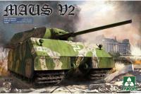 Сборная модель - Super Heavy Tank Maus V2 (Маус) (Takom 2050) 1/35