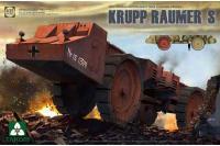Krupp Raumer S германский тяжелый минный тральщик (Takom 2053) 1/35