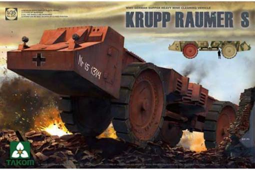 Krupp Raumer S (Takom 2053) 1/35