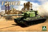 Сборная модель - T29E3 американский тяжелый танк (Takom 2064) 1/35
