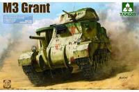 Сборная модель - M3 Grant - британский средний танк (Takom 2086) 1/35