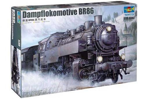 Dampflokomotive BR86 (Trumpeter 00217) 1/35