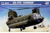 Сборная модель - Военно-транспортный вертолет CH-47d Chinook (Trumpeter 01622) 1/72