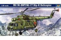 Сборная модель - Ми-8МТ/Ми-17 - многоцелевой вертолет / Mil Mi-8MT/Mi-17 Hip-H Helicopter (Trumpeter 05102) 1/35