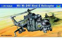 Сборная модель - Ми-24В - Ударный вертолет / Mil Mi-24V Hind-E Helicopter (Trumpeter 05103) 1/35