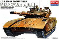 Сборная модель - Танк I.D.F. Merkava MK-III (ACADEMY 13267)