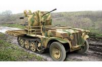 Сборная модель - Sd.Kfz.10/4 с 2-см зенитной пушкой Flak-38 (ACE 72286) 1/72
