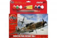 Подарочный набор со сборной моделью самолета Boulton Paul Defiant MK.I (Airfix 55213) 1/72