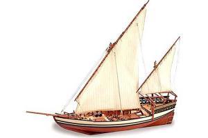 Сборная модель парусника Sultan ( Султан)  (Artesania Latina 22165) 1/60