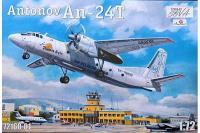"""Сборная модель - самолет Антонов Ан-24T """"Phoenix Avia"""" (AMODEL 72160-01) 1/72"""