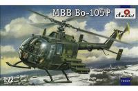 Сборная модель - вертолет MBB Bo-105P (военная версия) (AMODEL 72259) 1/72