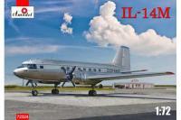 Сборная модель - самолет Ил-14М Аэрофлот (AMODEL 72324) 1/72