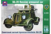 БА-20 советский легкий бронеавтомобиль (ARK Models 35004)  1/35