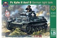 Сборная модель - Немецкий легкий танк Pz.Kpfw II Ausf.D (ARK Models 35016) 1/35