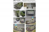 Захист для БТР-70, 80 (ліжка, сітка-рабиця), Україна. АТО (DAN models 35601) 1/35